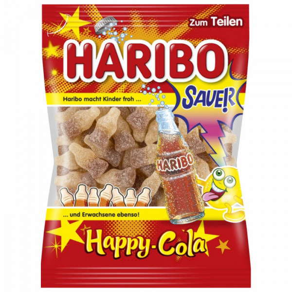 Haribo - Happy Cola Sauer 200g