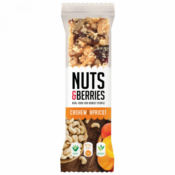 Nuts & Berries - Cashew & Apricot 30g