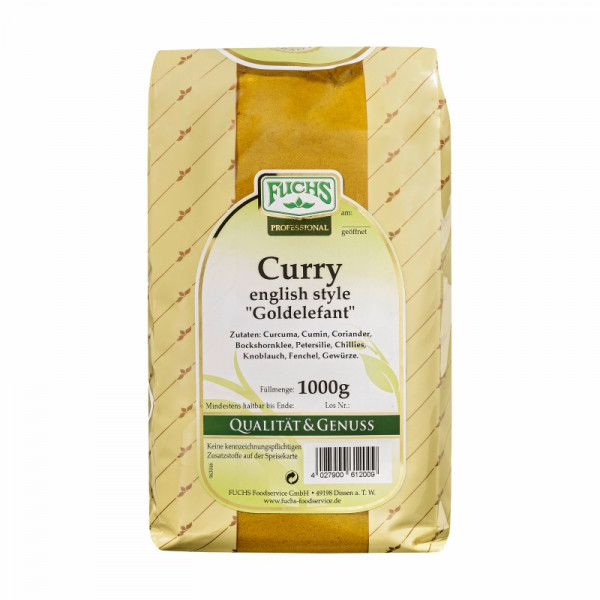 Fuchs - Curry english style Goldelefant 1kg