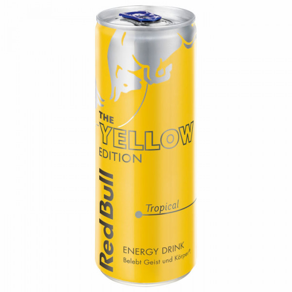 Red Bull - Tropical The Yellow Edition 0,25L
