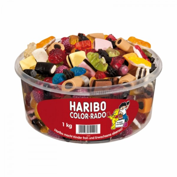 Haribo - Color-Rado 1000g