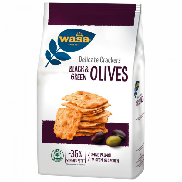 Wasa - Delicate Crackers Olive 150g