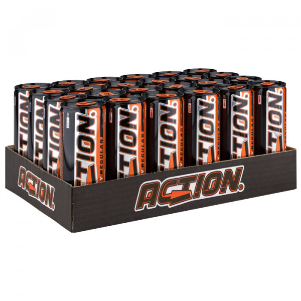 Action - Energy Drink 24 x 0,25 L