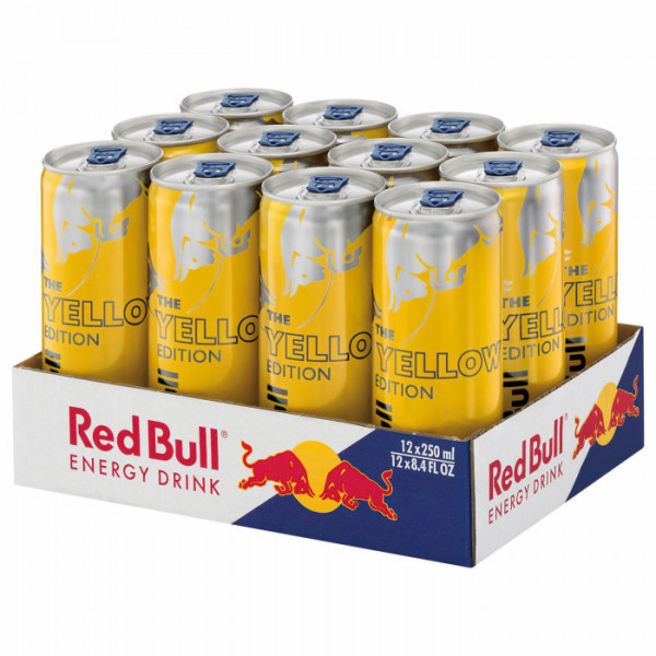 Red Bull - Tropical The Yellow Edition 12 x 0,25 L
