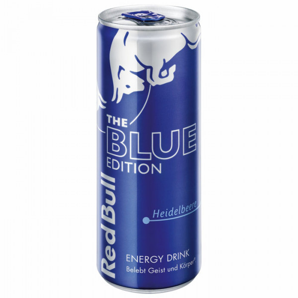 Red Bull - Heidelbeere The Blue Edition 0,25L