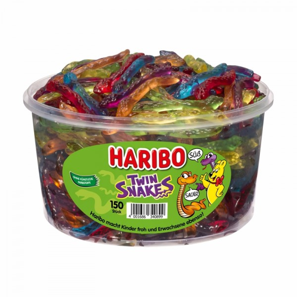Haribo - Twin Snakes 150Stk/1200g