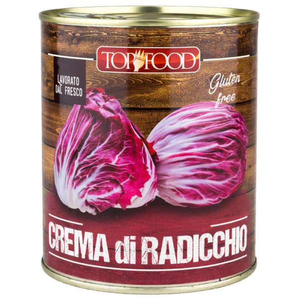 Top Food - Crema di Radicchio 800g